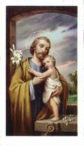イタリア ご絵 聖父子 1632