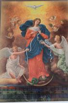 ご絵 ポストカード15.4×10センチ 結び目を解く聖母B 137-219