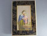 板絵 卓上 聖ヨハネと幼きイエス 15.5×11センチ 板厚み12ミリ