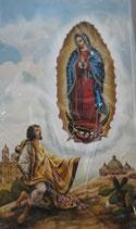 イタリア ご絵 Lippi17 グアタルーペの聖母 10×6センチ 紙裏白