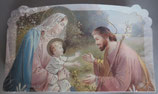 イタリア ご絵 CLARA 20 12.5×7.5センチ 大判飾り縁箔押し 紙裏白
