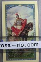 イタリア パウチご絵  聖マルチン  11、5×7センチ