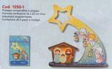 イタリア FB NATALE 卓上飾り ご降誕 16×22センチ 1250-1