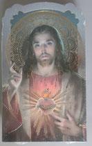 イタリア ご絵 CLARA 21 12.5×7.5センチ 大判飾り縁箔押し 紙裏白
