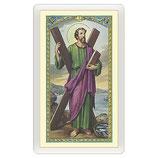 パウチカード イタリア2406 Santino Sant'Andrea Apostolo Preghiera ITA 10x5