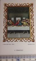 ご絵 絵画 IL CENACOLO B-8 11,5×6.7センチ 紙裏白