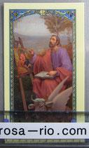イタリア パウチご絵  聖ルカ 11×7センチ