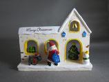 クリスマス ジオラマ サンタさんのお買いもの