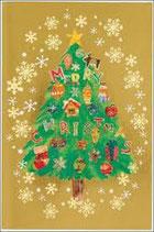 クリスマスカード(封筒付き) クリスマスカード S300-65(聖句シール付き)