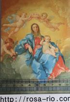 ポストカード15.4×10センチ フィデス G-8 ロザリオの聖母