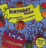 CD   BIRTHDAY SONGS Arrabged for Chlldren & Toddleres