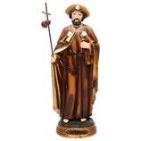 ご像 樹脂 巡礼者聖ヨハネ 20センチ Saint James Apostle Statue, 20 cm in resin 8283