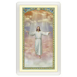 パウチカード イタリア 2425Santino Gesù che accoglie in cielo Le Beatitudini ITA 10x5