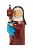 LDW St. Clair of Assisi 185584YX (アッシジの)聖クララ 聖キアラ アッシジの聖クレア
