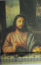 御絵 クラシカル パンを祝福するイエス