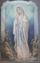 イタリア ご絵 CLARA 40 12.5×7.5センチ 大判飾り縁箔押し 紙裏白