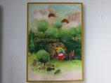 女子パウロ会 クリスマスカード 15.5×11センチ 封筒つき 23206
