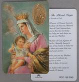 イタリア プラ箔押しカード RCC 130 8.3×5.5センチ 裏面英語祈り