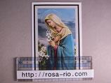 ご葬儀 典礼カード 片面 110×70ミリ ゆりの聖母マリア