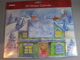 3Dアドベントカレンダー クリスマスハウス