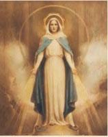 イタリア FB ご絵 20×25センチ紙 8.10-236 CHAMBERS MIRACULOUS MARY