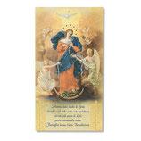 イタリア 祝福カード大 メアリーUntire of Knots ITALIAN 結び目の聖母