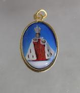 勝利の聖母マリア教会 幼子イエスカラーメダイ20ミリ