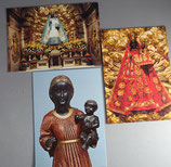スイスEinsiedeln 黒の聖母 ポストカード