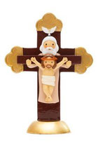LDW  185588YX Holy Trinity Cross statue