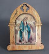 イタリア 卓上合板デコパージュ9×7センチ 無原罪の聖母