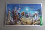 プラハ クリスマスカード 立体エジプト逃避