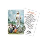 イタリア Art Ita メダイカード 英語 ファティマの聖母 6915