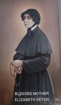イタリア ご絵 RENI 聖エリザベスセトン 1240 10×6センチ 紙裏白