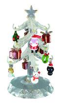 かわいいガラス細工 クリスマスツリー