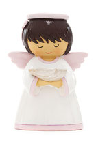 LDW 195114YX-1 Baby girl angel baptism 洗礼 天使の女の子