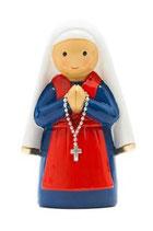 LDW 175287YX   Saint Bernardette statue   聖ベルナデッタ