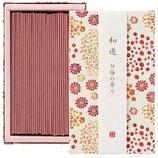 カメヤマキャンドル 20120205 和遊白梅の香りのお線香(平箱)