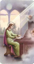 聖人ご絵 聖セシリア