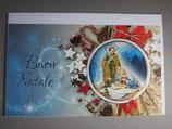 イタリア製 クリスマスカード 定型小型 C1626