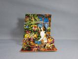 封筒つき 立体クリスマスカード 小 キティツリー TR112