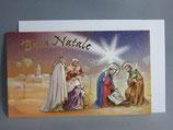 イタリア製 クリスマスカード 定型小型 C1531C1628