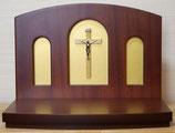 日本製 キリスト教 上置き祭壇 AL-1型 (B)十字架白木