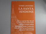 イタリア トリノ LA SANTA SINDONE パンフレット 英語