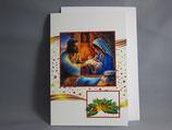 イタリア製 クリスマスカード 定型 聖家族0662-1C1614