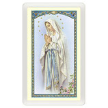 パウチカード イタリア2364Santino Vergine di Lourdes Magnificat ITA 10x5
