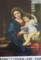 ポストカード15.4×10センチ フィデス G-16 葡萄の聖母子