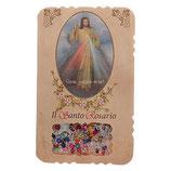 イタリア 神の慈悲のリーフレットミステリー連祷とロザリオ