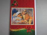 イタリア製 クリスマスカード 定型 聖家族 C1619