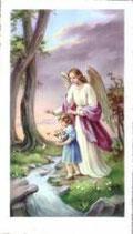 聖人御絵 守護の天使 女の子 洗礼