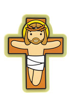 LDW   Jesus on the cross Fridge magnet  クロスマグネット